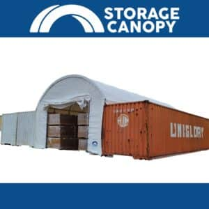 Shipping container roof 20x40