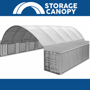 26x20x10 ft shipping container roof that with matching containers