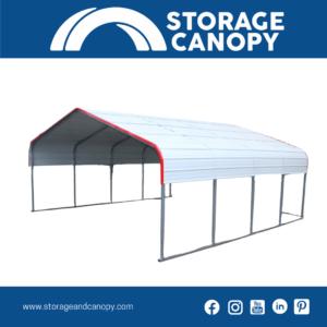 Metal carport 20x20